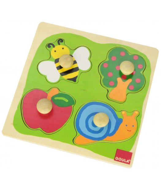 puzzle madera campo 22x22cm