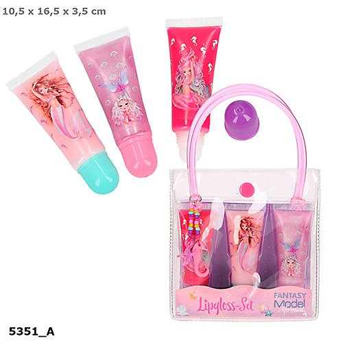 juego de pintalabios gloss fantasy model mermaid